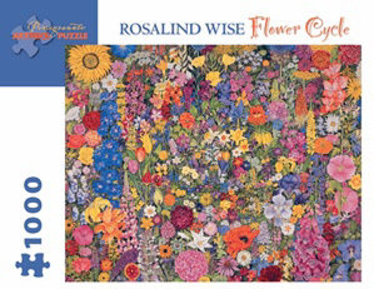 Picture of ROSALIND WISE: FLOWER CYCLE 1000PC PUZZLE