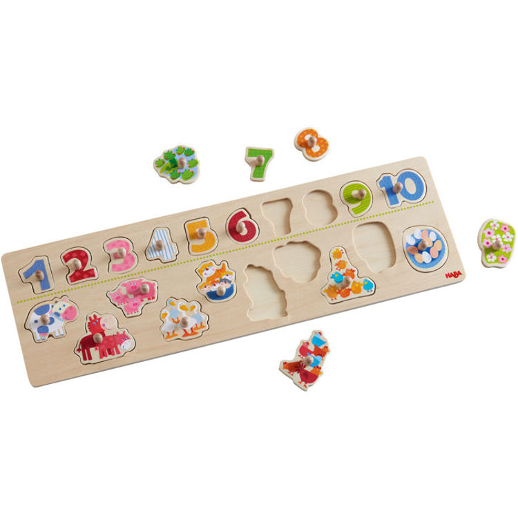 Picture of PEG PUZZLE ANIMALS BY NUMBER