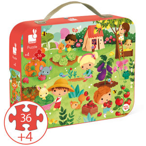 Picture of GARDEN PUZZLE 36PC