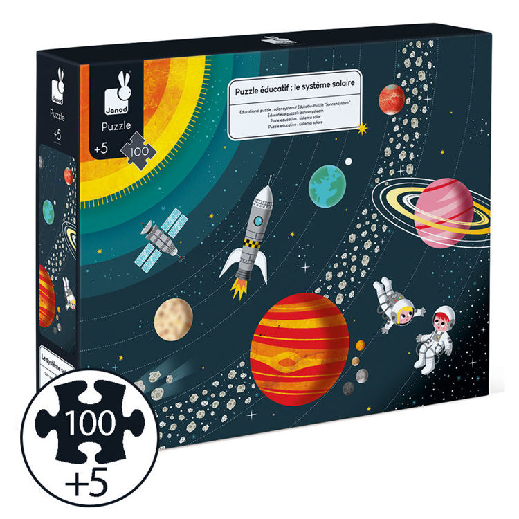 Picture of SOLAR SYSTEM PUZZLE 100PC